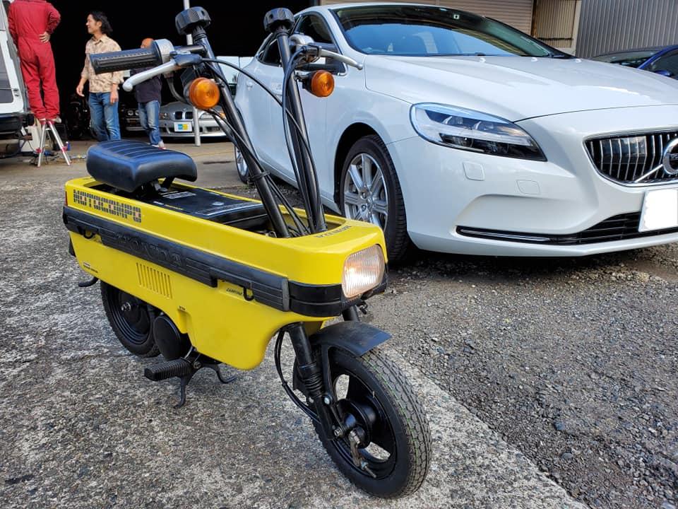 おもちゃのようなバイクモトコンポ
