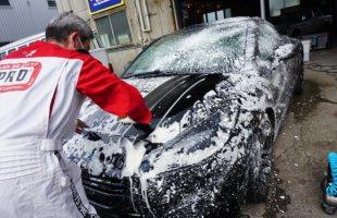 クールマン洗車